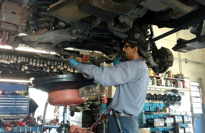 Liebsack auto mechanic in Gardena
